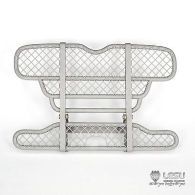 UK Stock Metal Front Bumper Upgraded Part A1 For 1/14 Tamiya MAN RC Tractors • 64.99£