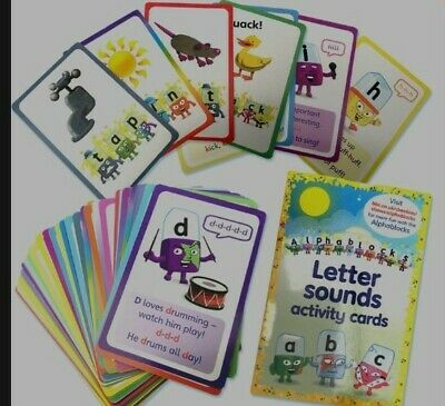 Alphablocks Cbeebies Phonics Letter And Sounds Acitivity Cards Home Schooling  • 9.99£