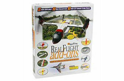 GPMZ4105 Great Planes Real Flight Addons Extra Content Pack Volume 5 New Boxed • 29.99£