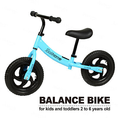 NEW Arrival Kids Balance Bike Walking Balance Training Kids Gift&Toys Blue UK • 21.90£