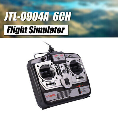 JTL-0904A 6CH RC Flight Simulator Support Real G7 Phoenix 5.0 XTR RC Drone MODE2 • 22.70£