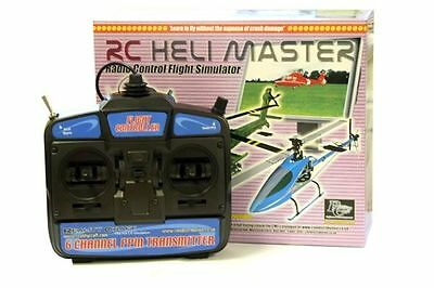 RC Heli Master Flight Simulator With Mode 2 Transmitter • 26.98£