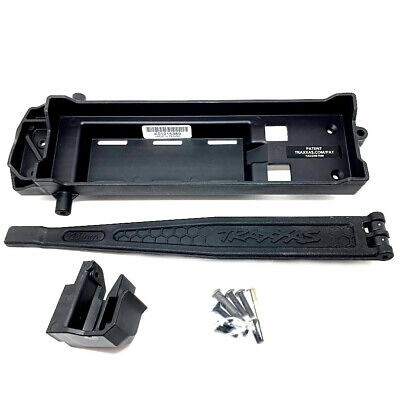 Traxxas TRX-4 Battery Tray / Adjustable Strap  - New Genuine Parts • 12.50£