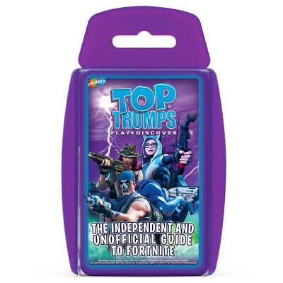 Independent & Unofficial Top Trumps Guide To Fortnite - Top Trumps Card Game • 4.95£