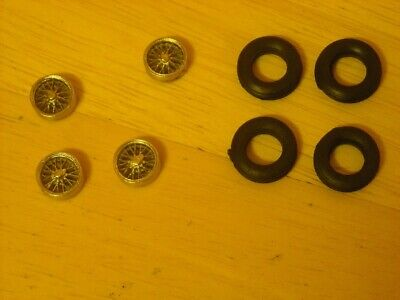 1/43rd Scale 15  Cast  Wire Wheels  And Tyres By K&R Replicas  • 2.75£