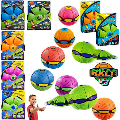 Phlat Ball - Throw A Disc, Catch A Ball! V3 Fushion, V3 Flash & Neon • 11.99£
