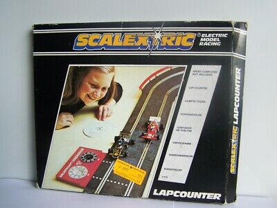 Scalextric Classic Lap Counter Timer Track Boxed (B6) • 11£