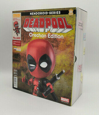 Deadpool Nendoroid Ore-chan Edition Authentic Good Smile Company BRAND NEW UK • 64.99£