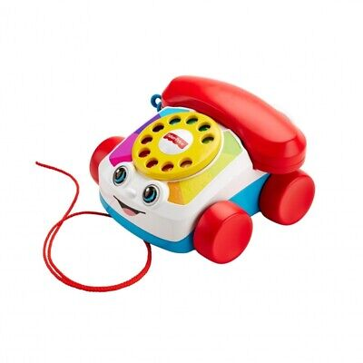 Fisher-Price Chatter Telephone Pull Along Toddler Toy Phone With Numbers Sounds • 8.99£