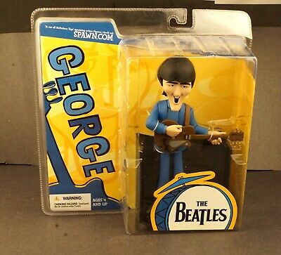 Mc Farlane Toys George The Beatles Figure Mint In Pack Sealed  #fig2 • 36.81£