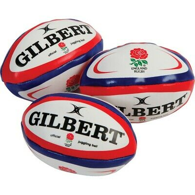 Gilbert England Mini Juggling Rugby Balls (Pack Of 3) • 12.99£