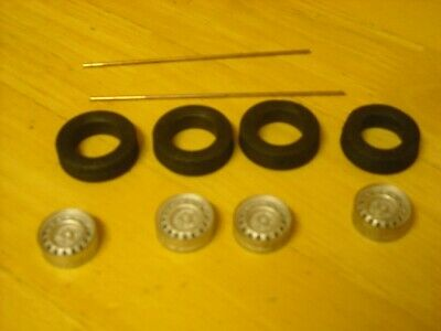 1/24th Scale Dunlop Wheels K&R Replicas For Cars With 15  Wheels  • 10£