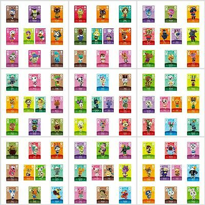 ANIMAL CROSSING AMIIBO SERIES 3 CARDS ALL CARDS 201 > 300 Nintendo Wii U Switch • 9.95£