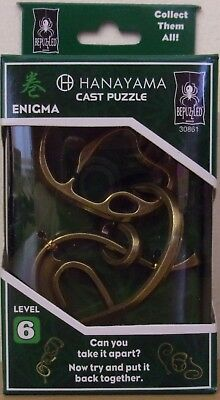 Hanayama Cast Puzzle ~ Enigma ~ Difficulty Level 6 • 11.99£