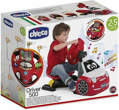 Chicco Driving Simulator Car Toy, Fiat 500 Driver - FREE LOCAL DELEVERY! • 40£