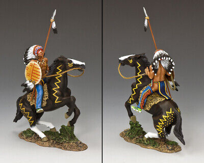 KING AND COUNTRY War Shield - Arapaho - The Real West TRW073(P) • 141.95£