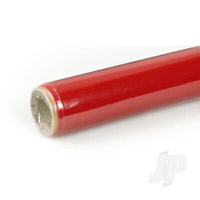 Oracover 2m Red (20) Covering For RC Model Plane • 23.75£