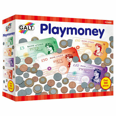 Playmoney - Learn About Money With This Set Of Quality Coins And Notes. • 10.90£