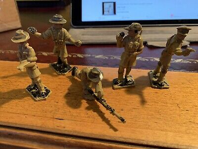 Lone Star Harvey Series Australian Jungle Fighters X5 In Good Condition • 14.99£