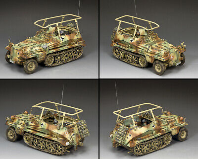 KING AND COUNTRY German Panzer Lehr Command Vehicle WW2 WH098 • 273.95£