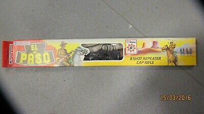 Vintage Collectible 1985 EL-PASO Toy Rifle Lone Star Toys Ltd England Boxed  • 200£