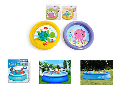 Small And Large Paddling Garden Pool Kids Fun Family Swimming Outdoor Inflatable • 24.98£