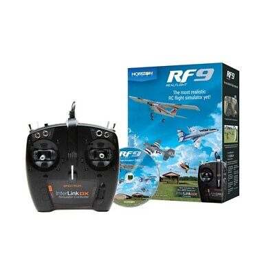 RF9 Flight Simulator With Spektrum Controller (RFL1100) Mode 1 Or 2 Switchable S • 215.18£