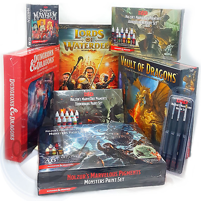 Dungeons & Dragons - Paint Sets, Games & More! Brand New & Sealed • 20.47£