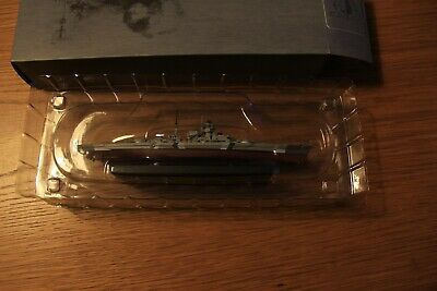Atlas Editions 1:1250 Warships Collection BISMARK • 12£