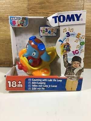 Learn To Count With Tomy's Luke The Loop - Boxed • 8.99£