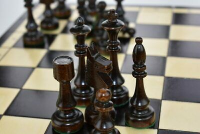 Large Traditional Wooden Chess Set 48 X 48 Hand Crafted Woodeeworld • 59.99£