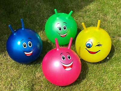 Large Space Hopper Inflatable Kids Outdoor Indoor Jumping Bounce Ball • 6.99£