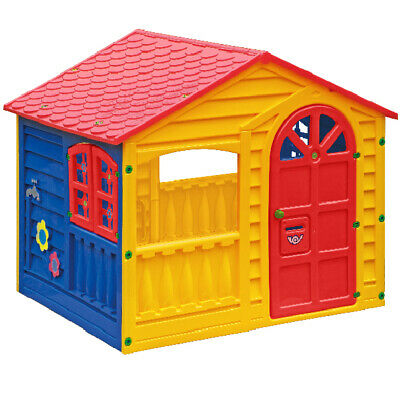 Palplay Fun Playhouse Outdoor Garden Play Time Hard Wearing Strong Plastic   • 139.99£