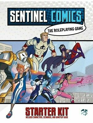 Sentinel Comics The Role Playing Game Critical Hit Studios RPG Marvel / DC • 14.99£