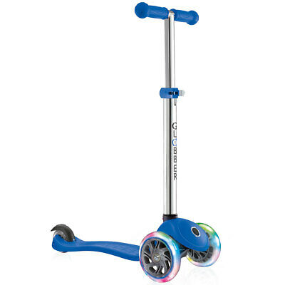 Globber Primo Lights Scooter In Blue (3+ Years) • 56.59£