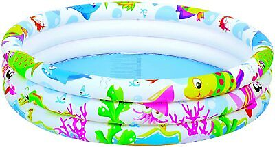 Kids Swimming Pool Children Water Paddling Activity Inflatable Fun Play • 6.99£