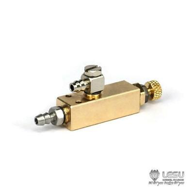 UK Stock LESU Metal Regulating Hydraulic Control For TAMIYA 1/14 RC Tractor D • 38.99£