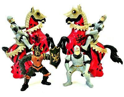 Medieval Horses & Figures Chap Mei / Other - Knights Armour Historical Pre-owned • 16.99£