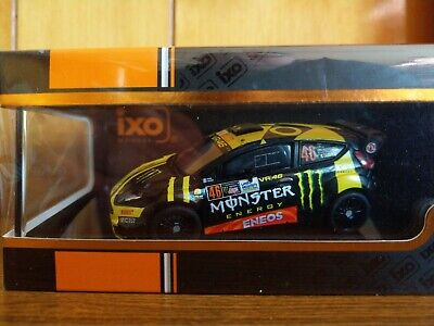 IXO 1/43 Scale Ford Fiesta WRC ROSSI Monza Rally 2017 NEW • 32.99£