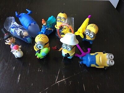 McDonalds Happy Meal 8 Toys From 12 2017 Despicable Me 3 Minions • 16£