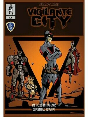 Survive This!! Vigilante City The Roleplaying Game Superhero Team-Up RPG Module • 19.99£