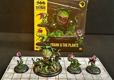Batman Miniature Game Frank And The Plants-well Painted Minis (4) • 70£