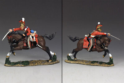 KING AND COUNTRY NAPOLEONIC British Charging With Sword Down NA263 • 137.95£