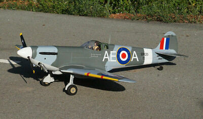 VQ Models Supermarine Spitfire 60.6in Wingspan (EP/GP) ARF *Special Offer* • 259.99£