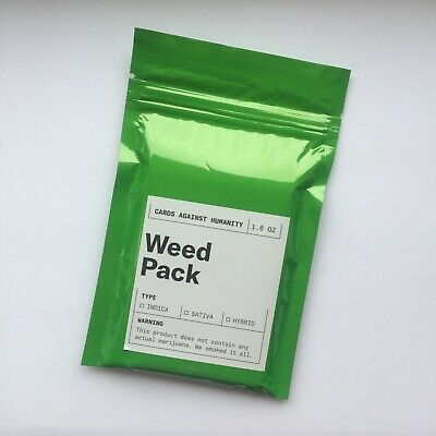 Cards Against Humanity: Weed Pack Expansion - New, Sealed & Genuine • 14.99£