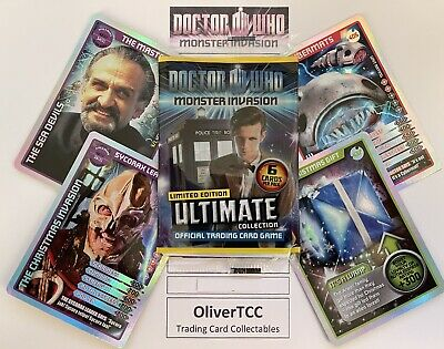Dr Who Monster Invasion Cards 346-476 Choose Your Own • 12£