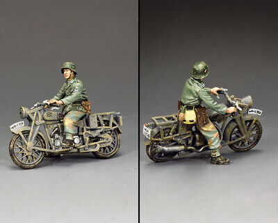 KING AND COUNTRY The Normandy Dispatch Rider WW2 German WH096 • 108.95£
