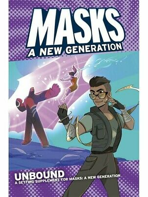 Masks A New Generation Unbound Roleplaying Game RPG Magpie Games • 24.99£