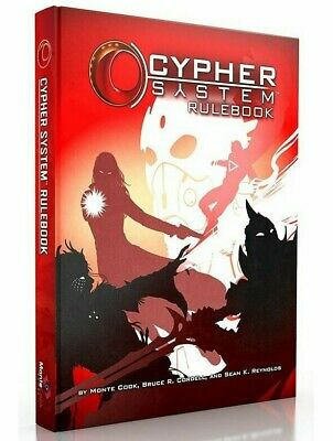 Cypher System RPG Rule Book 2nd Edition Roleplaying Game Monte Cook • 54.99£