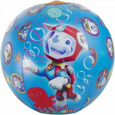 PAW Patrol Character Kids Boys Girls Inflatable Beach Ball • 3.49£